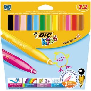 feutres de coloriage visacolor XL par 12
