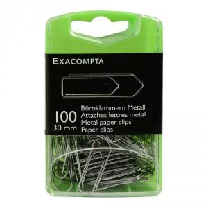 attaches lettres metal par 100 30mm papeterie colbert