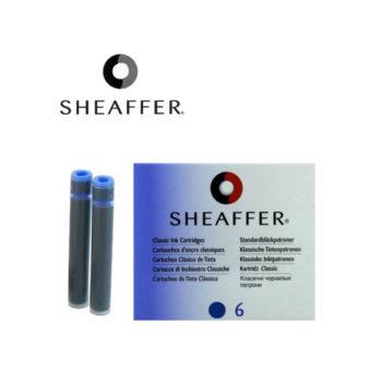 cartouche sheaffer bleu papeterie colbert
