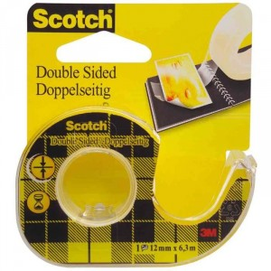devidoir scotch double face papeterie colbert