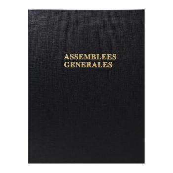 registre d'assemblée générale papeterie colbert