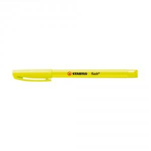 surligneur flash jaune papeterie colbert