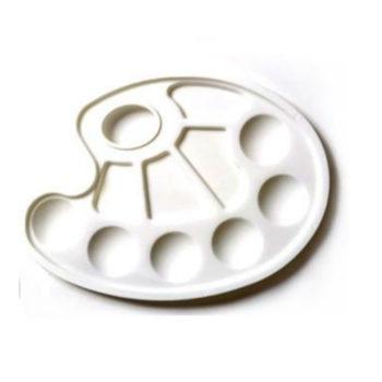 palette ovale à alvéole papeterie colbert