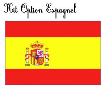 kit option espagnol papeterie colbert