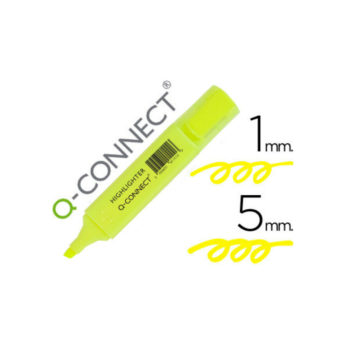 surligneur jaune q connect