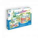aquarellum paysages tropicaux papeterie colbert