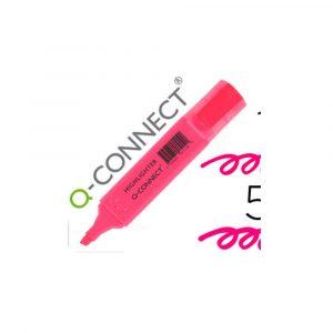 surligneur rose q connect