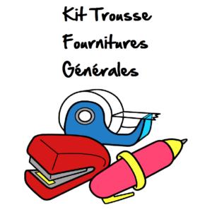 kit fournitures générales