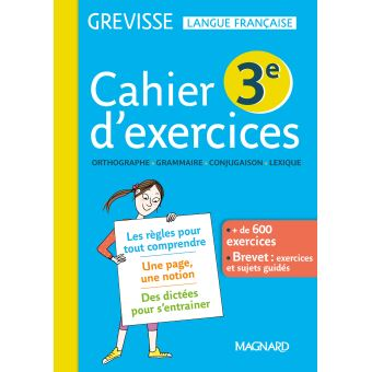 Cahier-d-exercices-Grevie-3eme-Cycle-4-Workbook